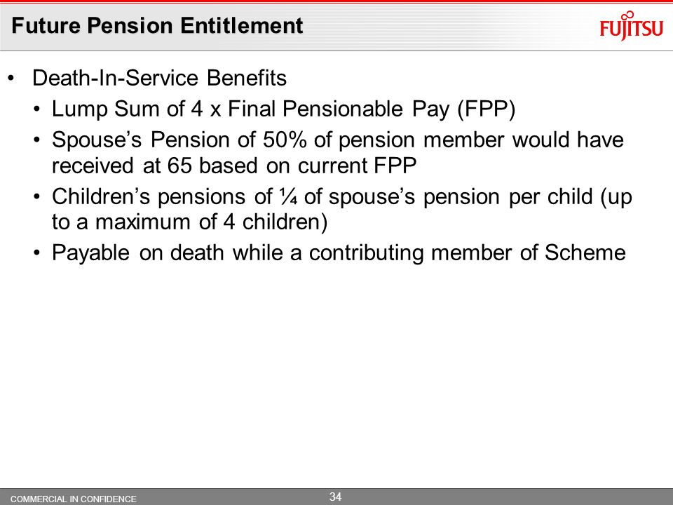 Future Pension Entitlement
