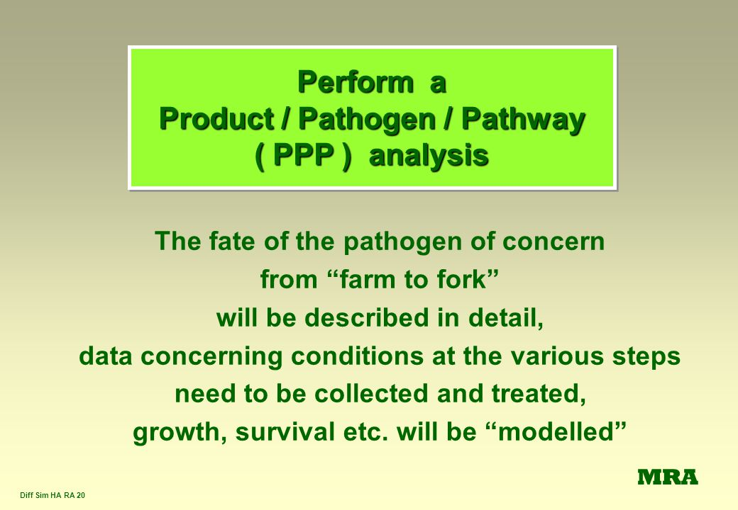 Perform a Product / Pathogen / Pathway ( PPP ) analysis