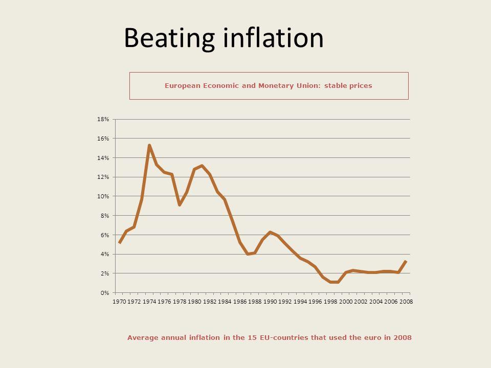 European Economic and Monetary Union: stable prices