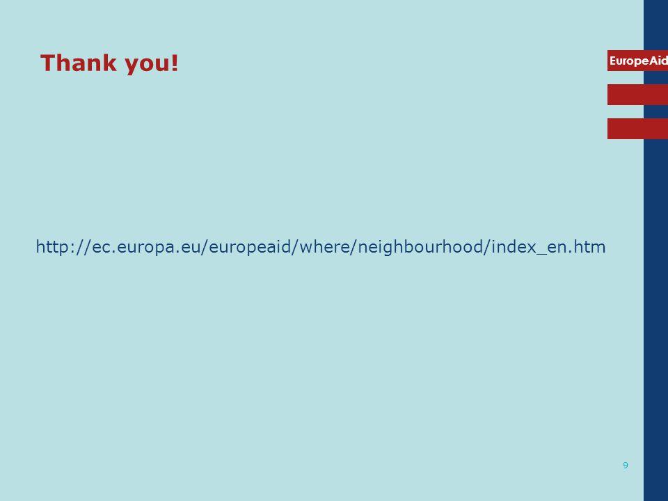 Thank you! http://ec.europa.eu/europeaid/where/neighbourhood/index_en.htm