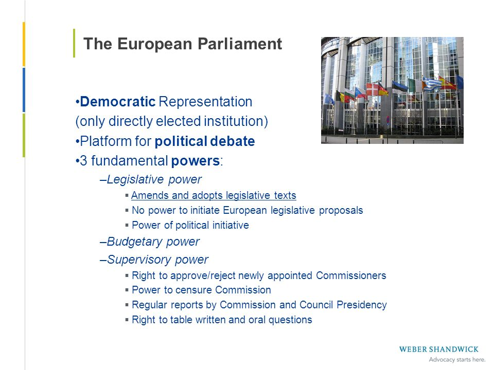 The European Parliament