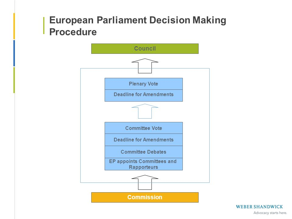 European Parliament Decision Making Procedure