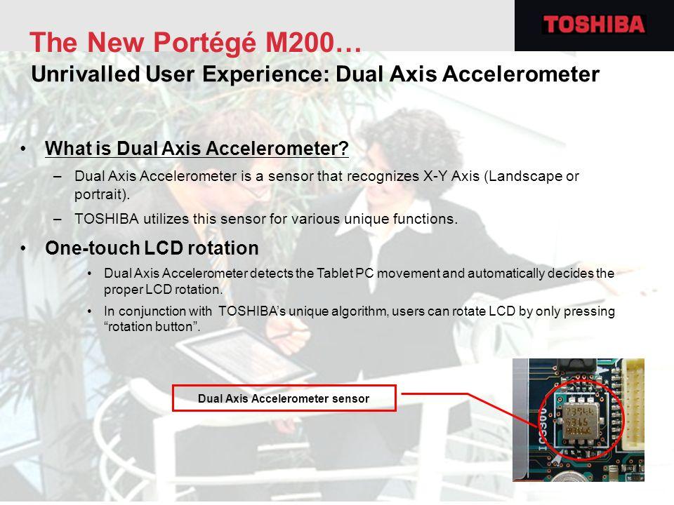 Dual Axis Accelerometer sensor