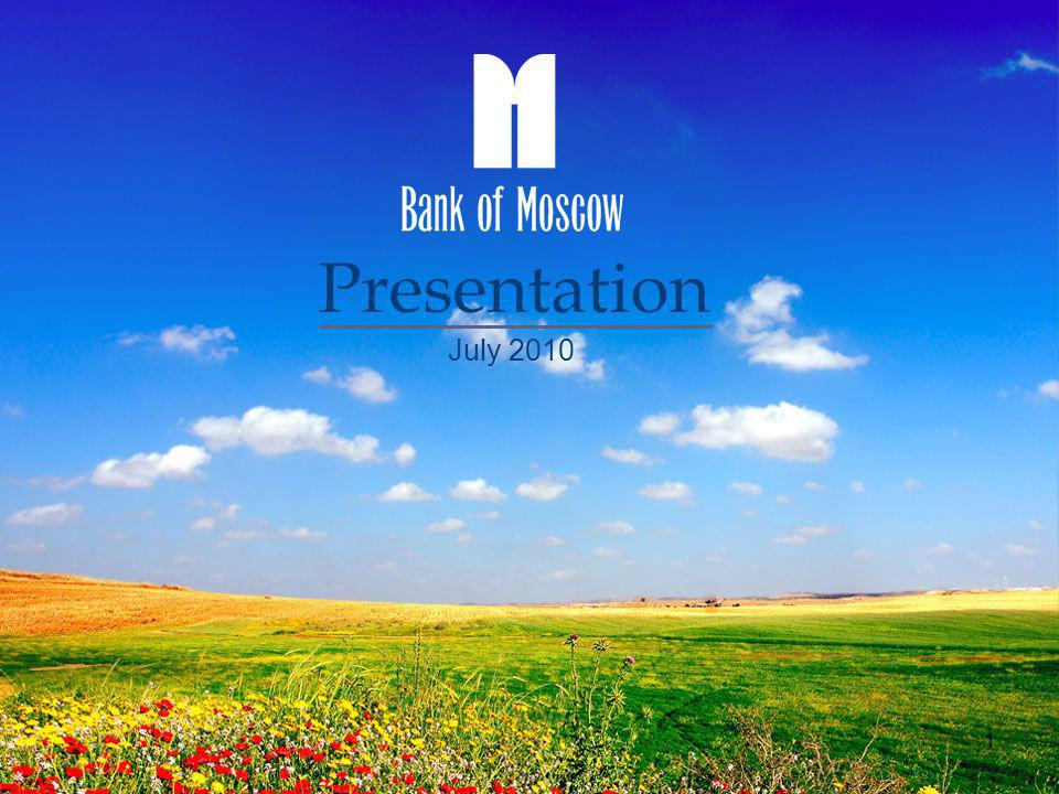 Presentation July 2010