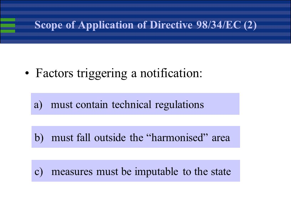 Scope of Application of Directive 98/34/EC (2)