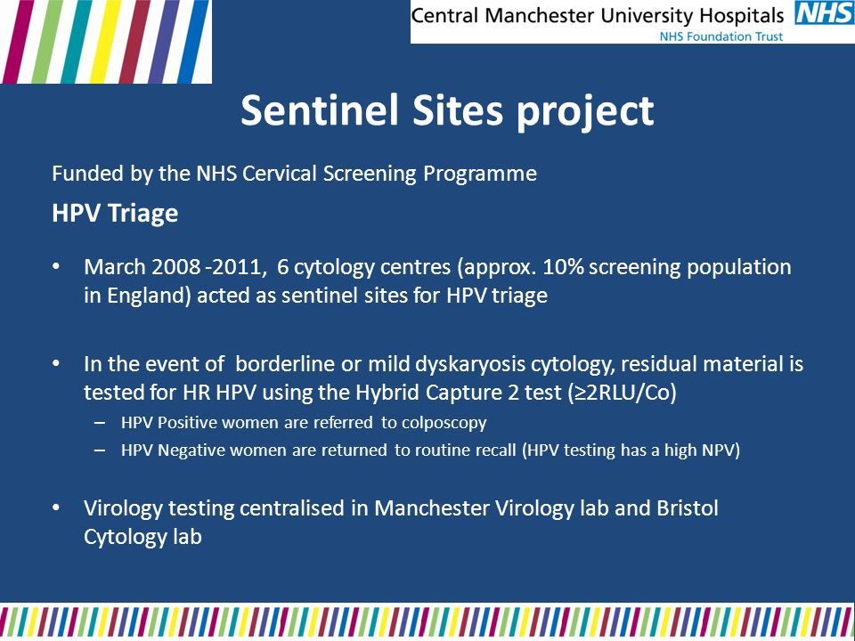 Sentinel Sites project