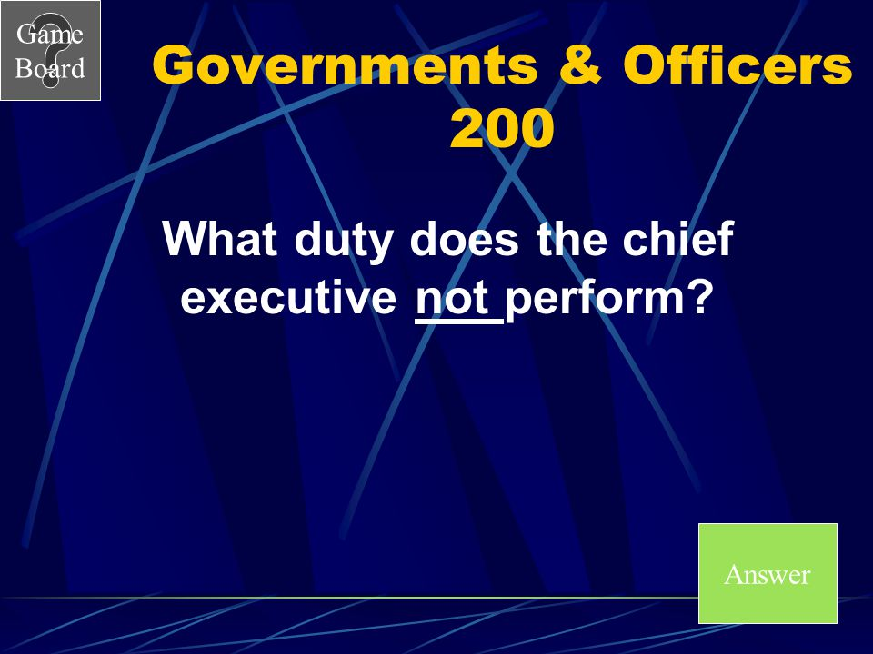 Governments & Officers 200