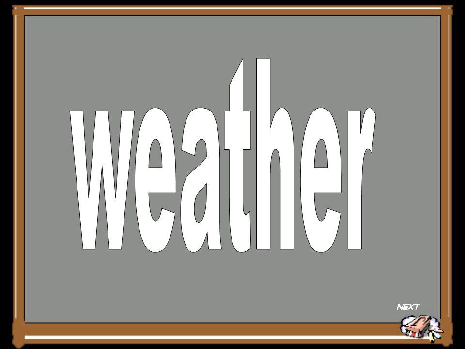 weather NEXT