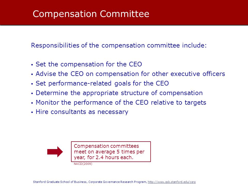Compensation Committee