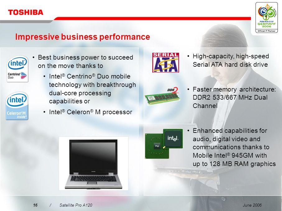 Impressive business performance