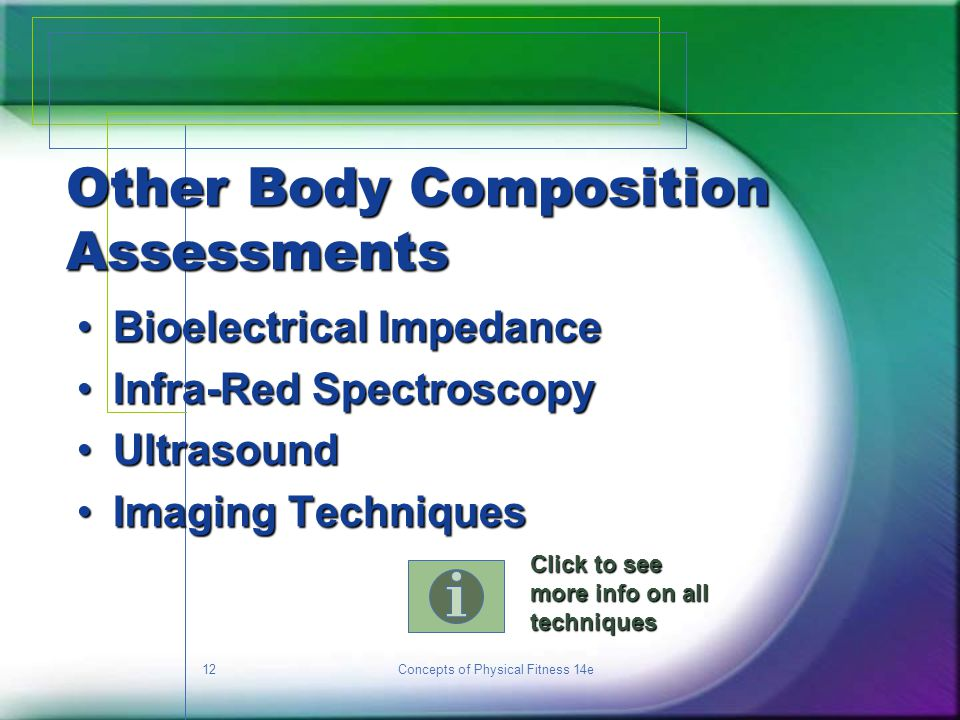 Other Body Composition Assessments