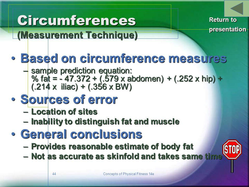 Circumferences (Measurement Technique)