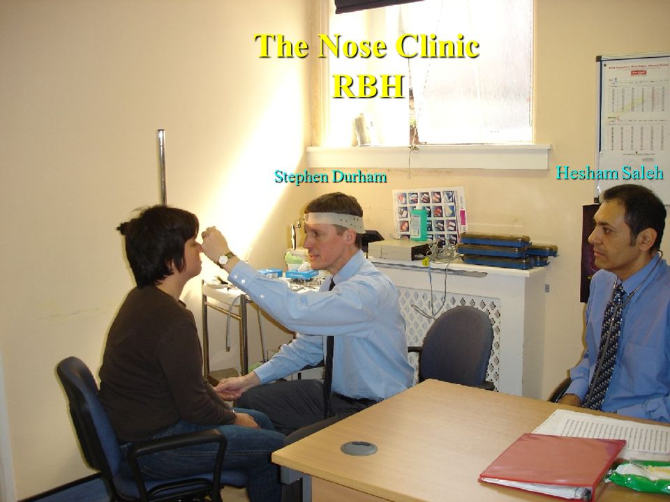 The Nose Clinic RBH Hesham Saleh Stephen Durham
