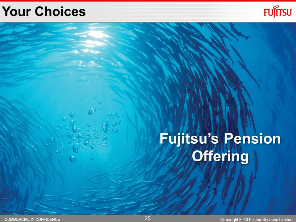 Fujitsu's Pension Offering