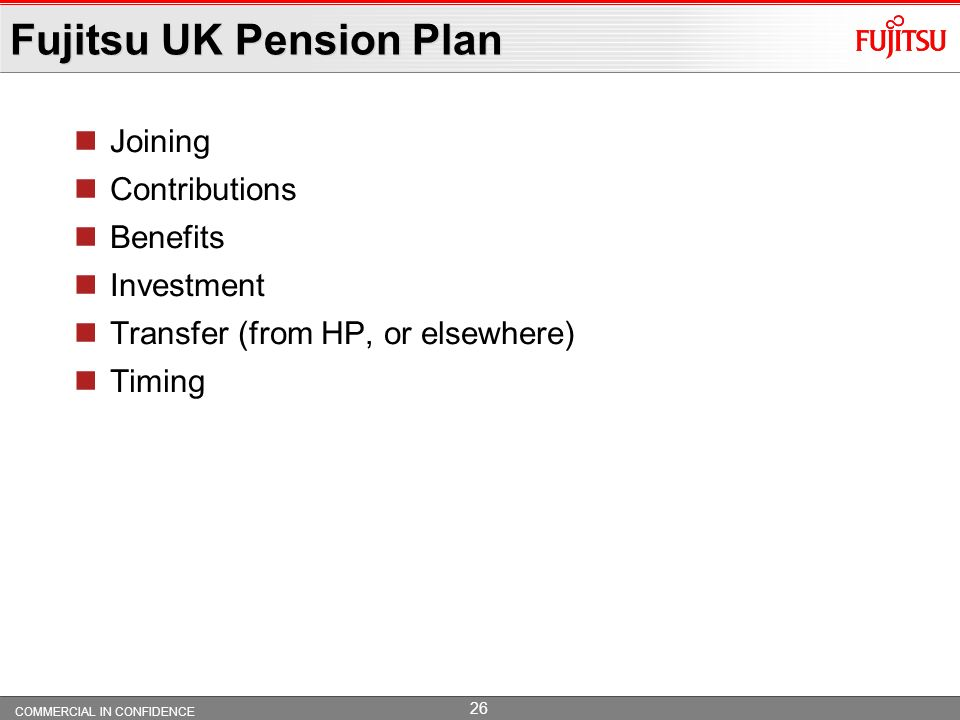 Fujitsu UK Pension Plan