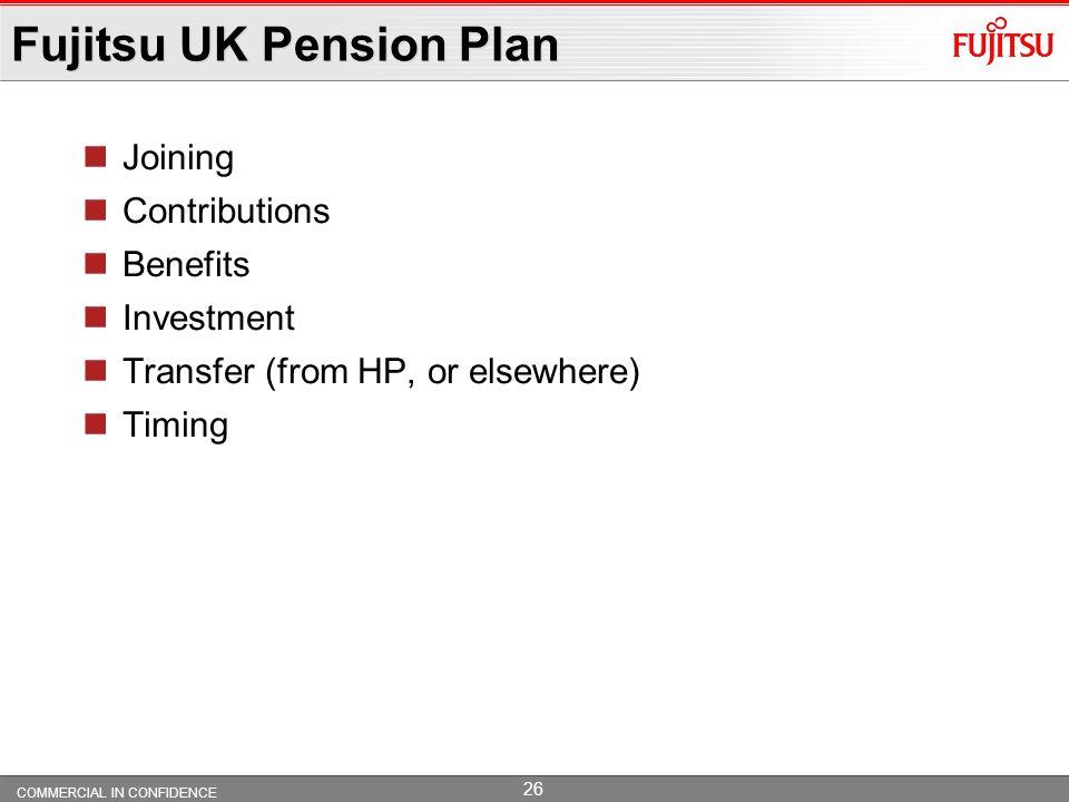 Fujitsu UK Pension Plan