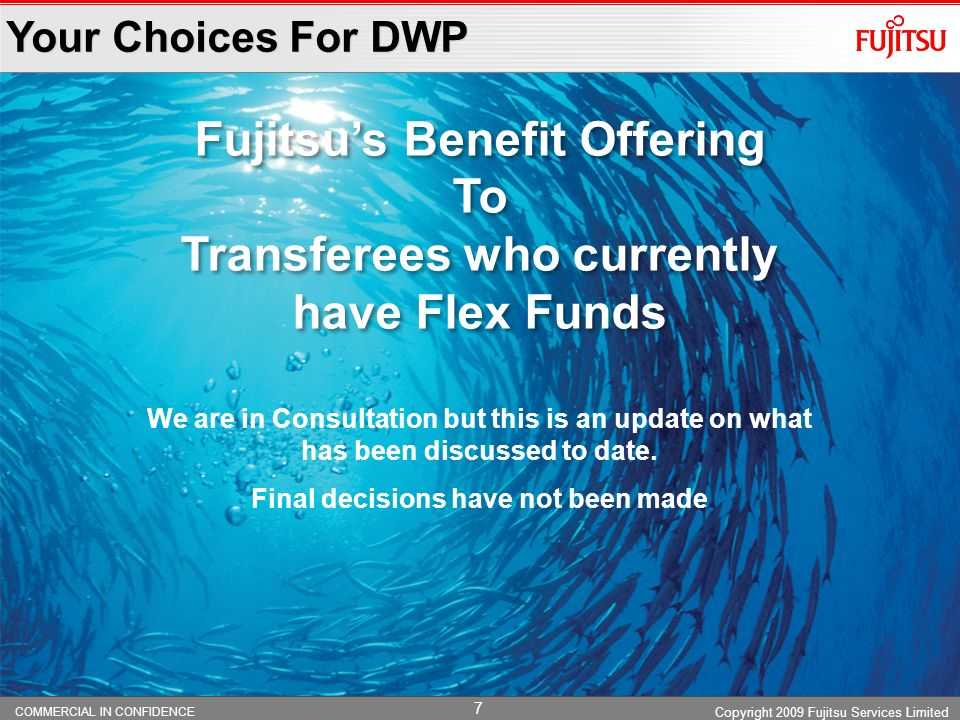 Fujitsu's Benefit Offering To Transferees who currently