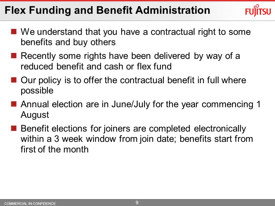 Flex Funding and Benefit Administration