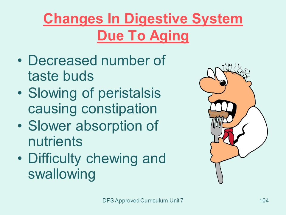 Changes In Digestive System Due To Aging