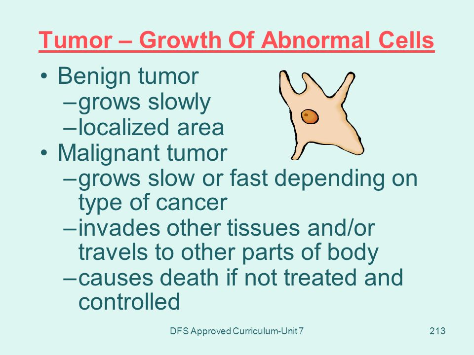 Tumor – Growth Of Abnormal Cells