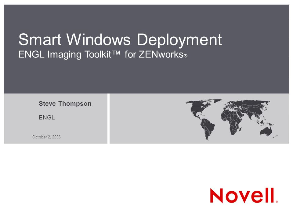 Smart Windows Deployment