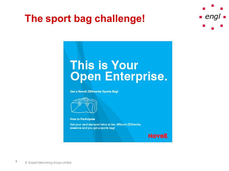 The sport bag challenge!