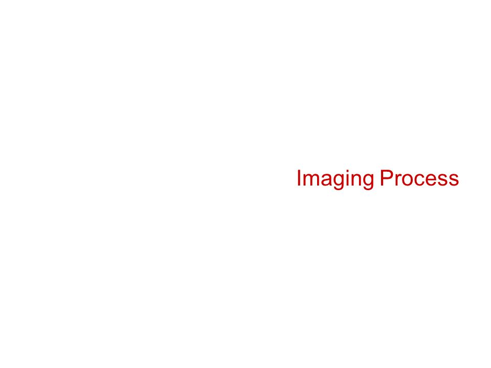 Imaging Process