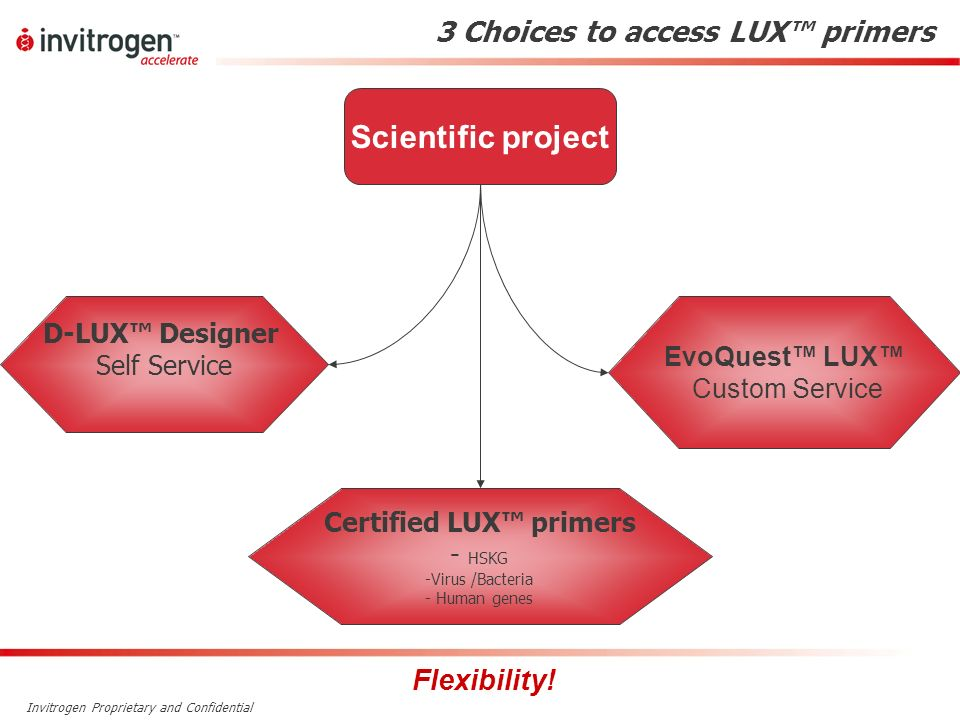 3 Choices to access LUX™ primers