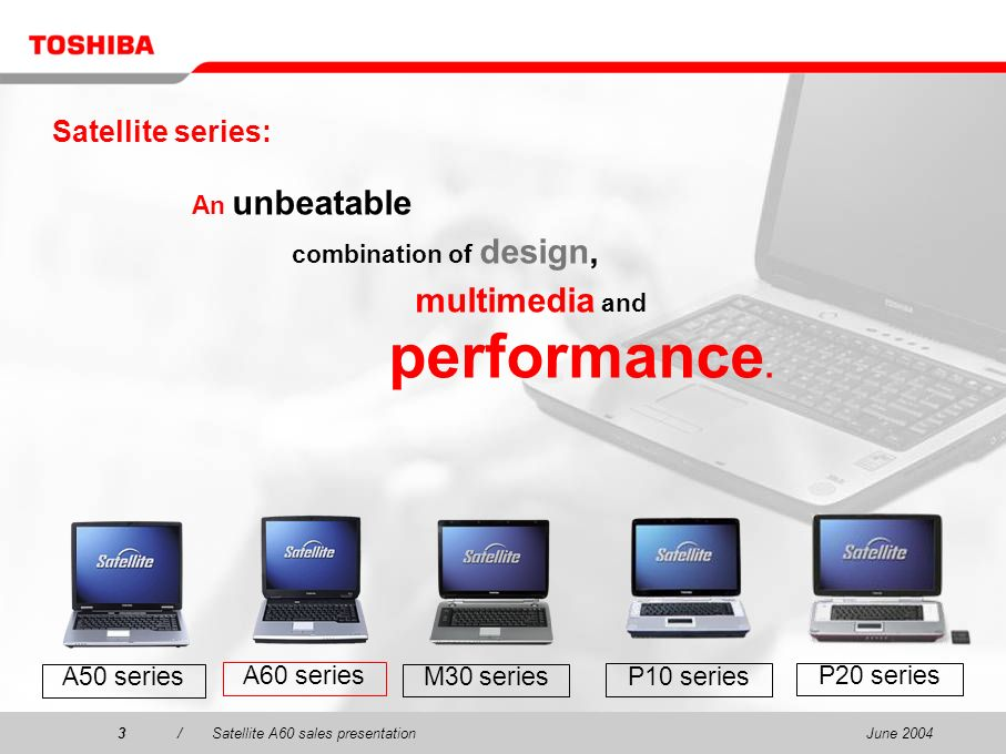 multimedia and Satellite series: An unbeatable combination of design,