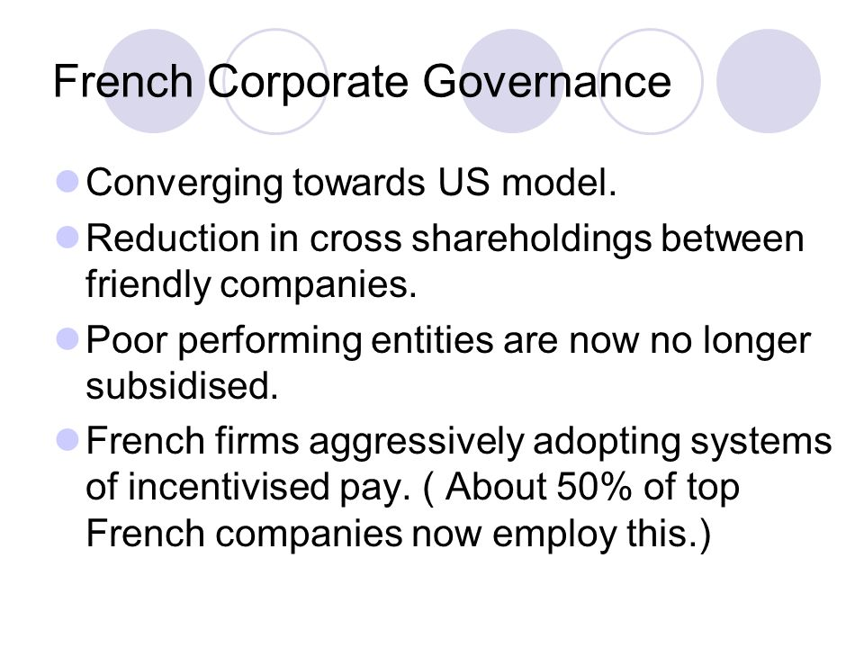 French Corporate Governance