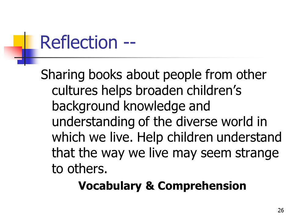 Vocabulary & Comprehension