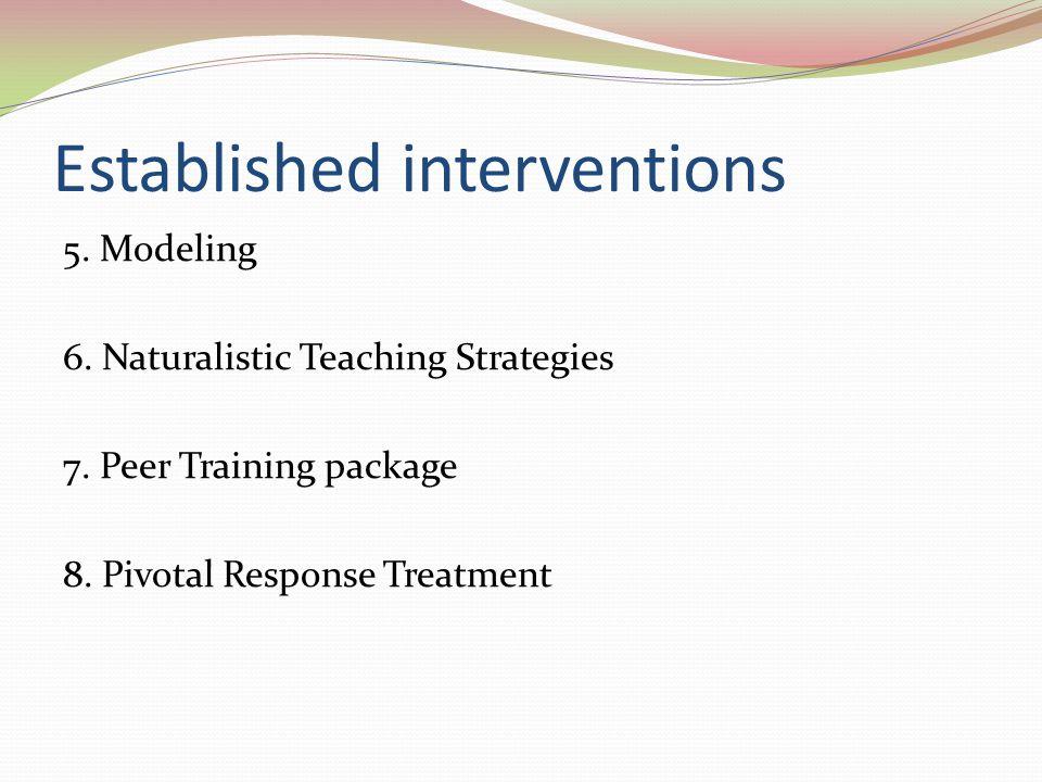 Established interventions
