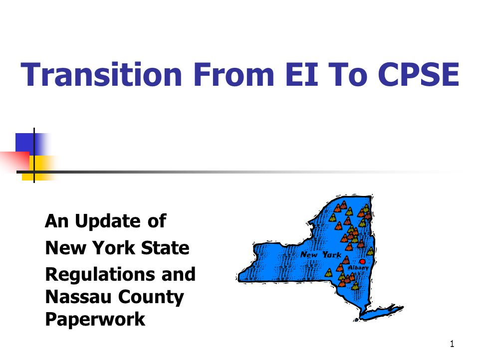 Transition From EI To CPSE