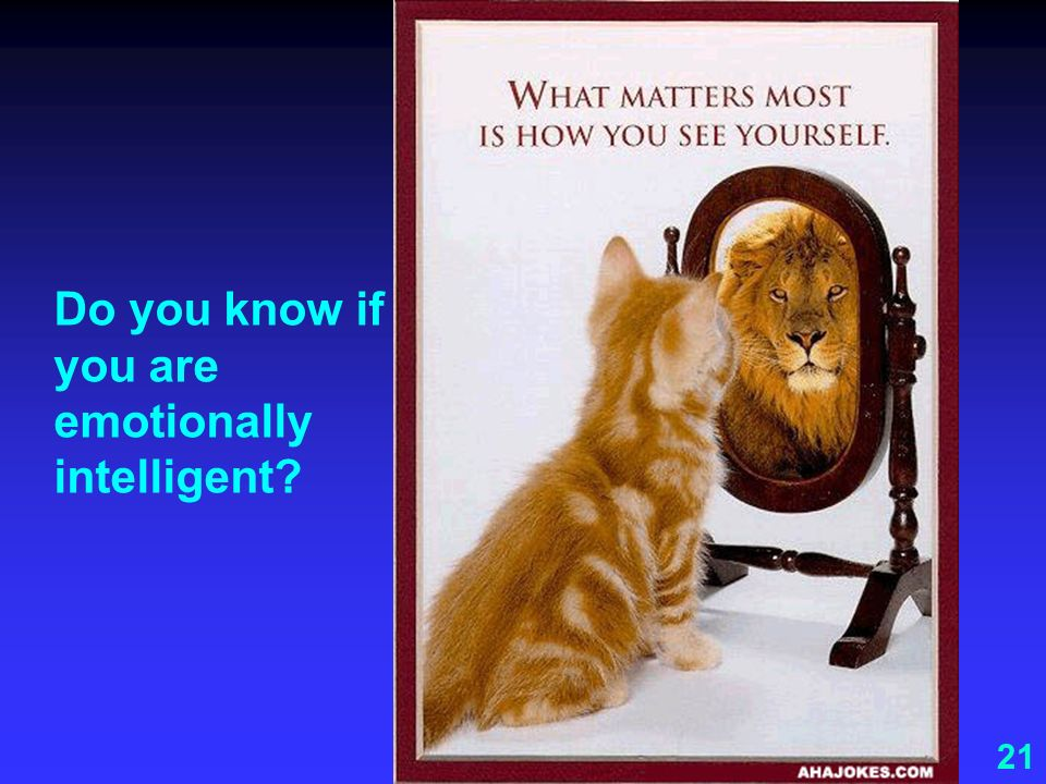 Do you know if you are emotionally intelligent