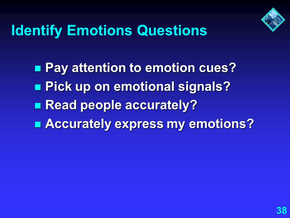 Identify Emotions Questions
