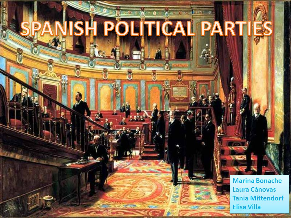 SPANISH POLITICAL PARTIES