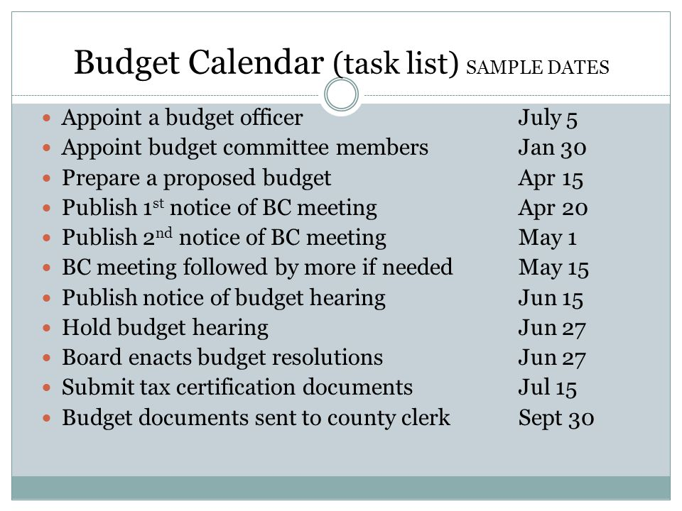 Budget Committee Roles  Responsibilities  Ppt Video Online Download