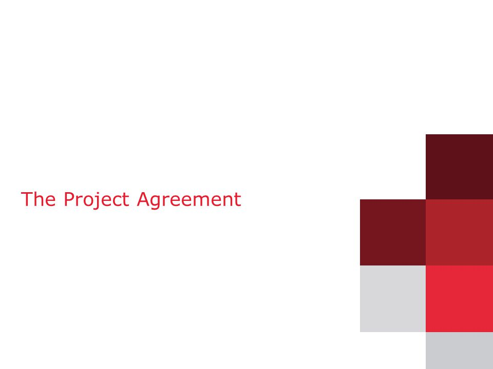 The Project Agreement