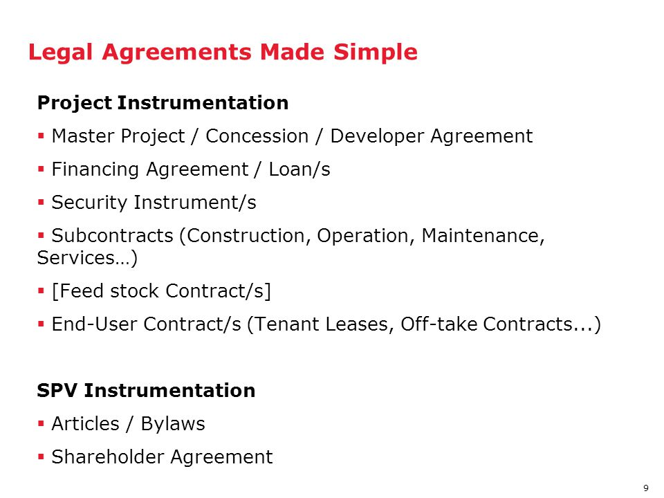 Legal Agreements Made Simple