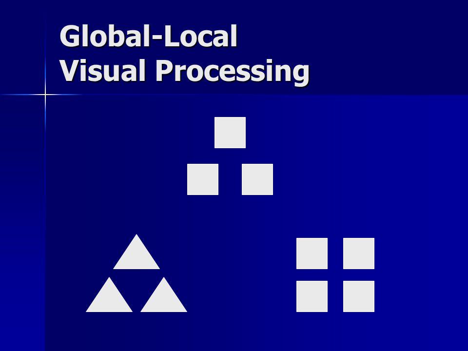 Global-Local Visual Processing