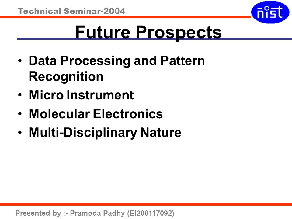Future Prospects Data Processing and Pattern Recognition
