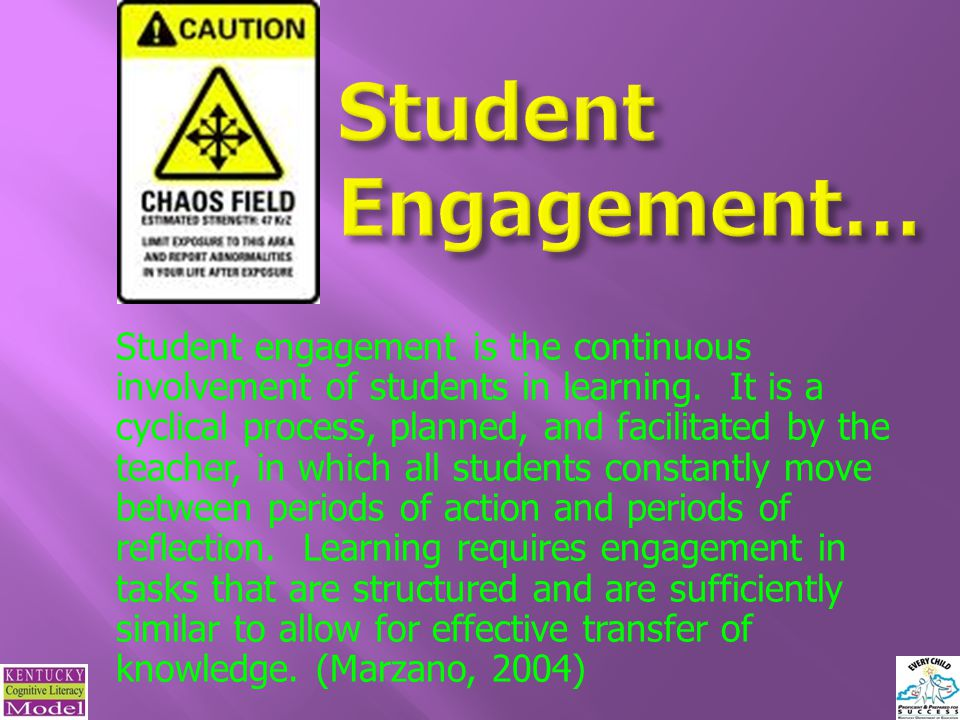 Student Engagement…