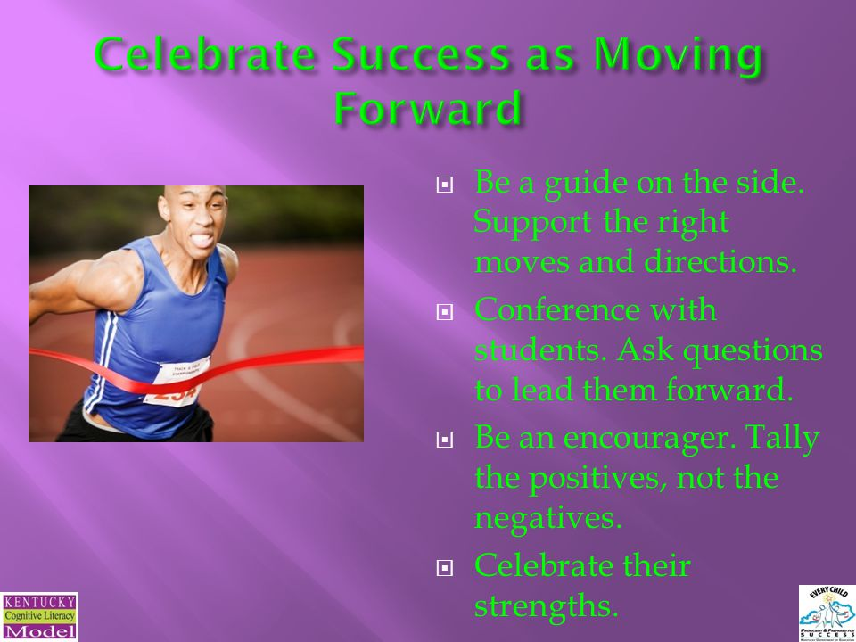 Celebrate Success as Moving Forward