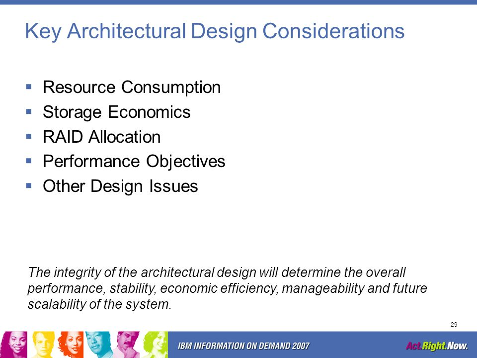 Key Architectural Design Considerations