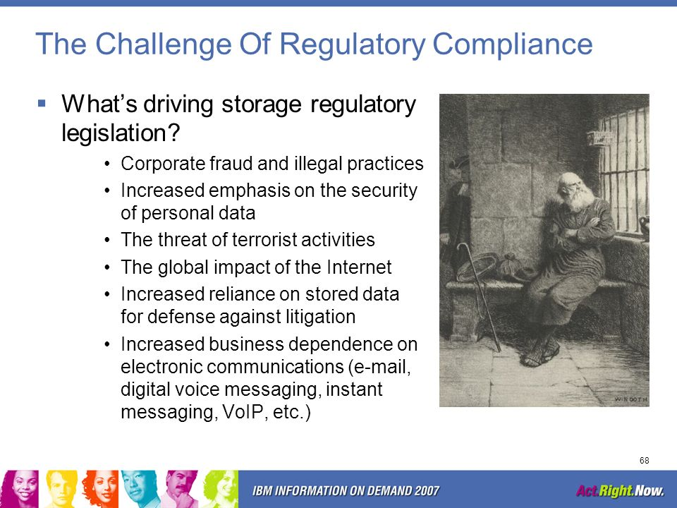 The Challenge Of Regulatory Compliance