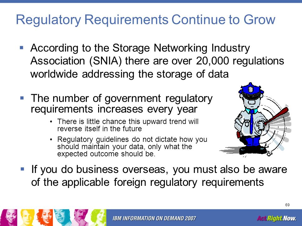 Regulatory Requirements Continue to Grow