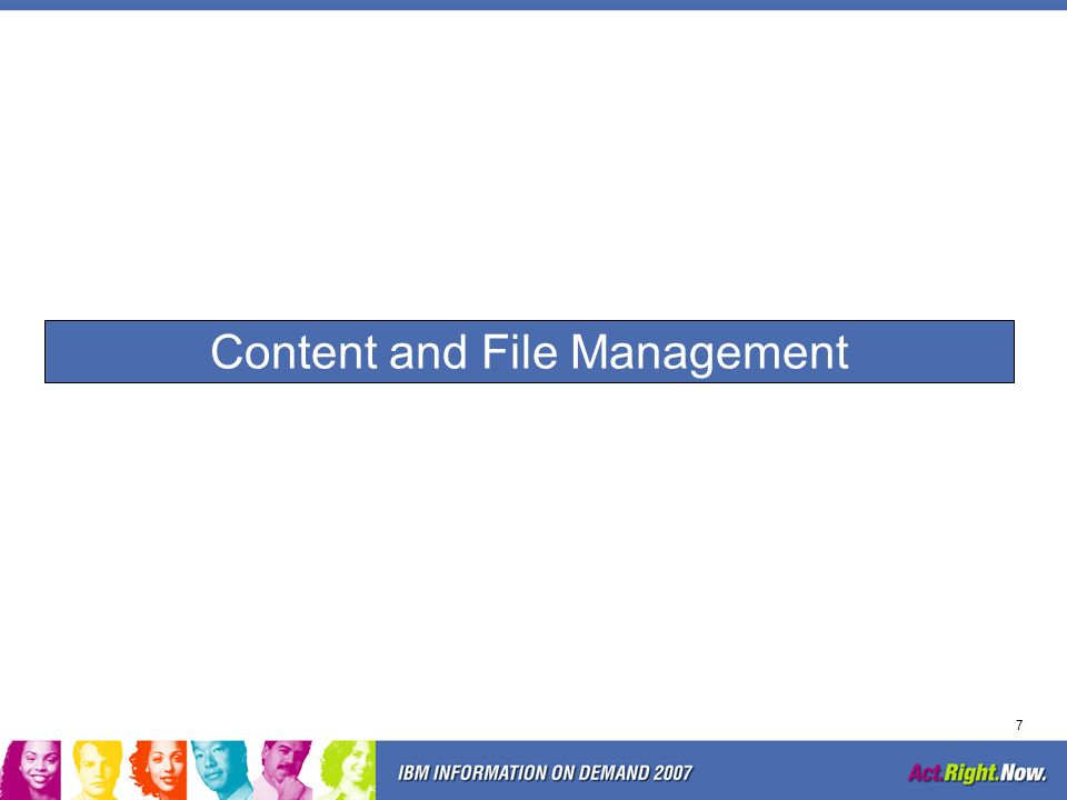Content and File Management