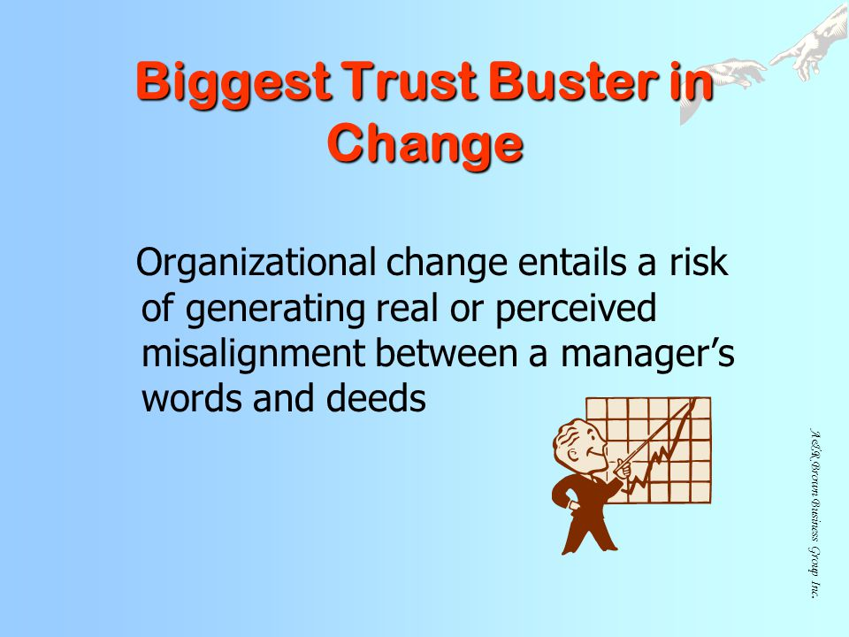 Biggest Trust Buster in Change