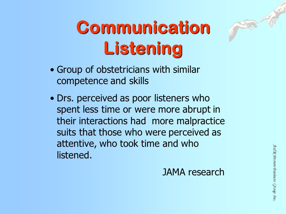 Communication Listening