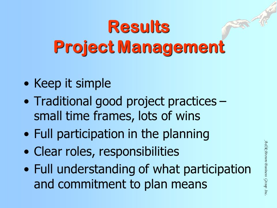 Results Project Management